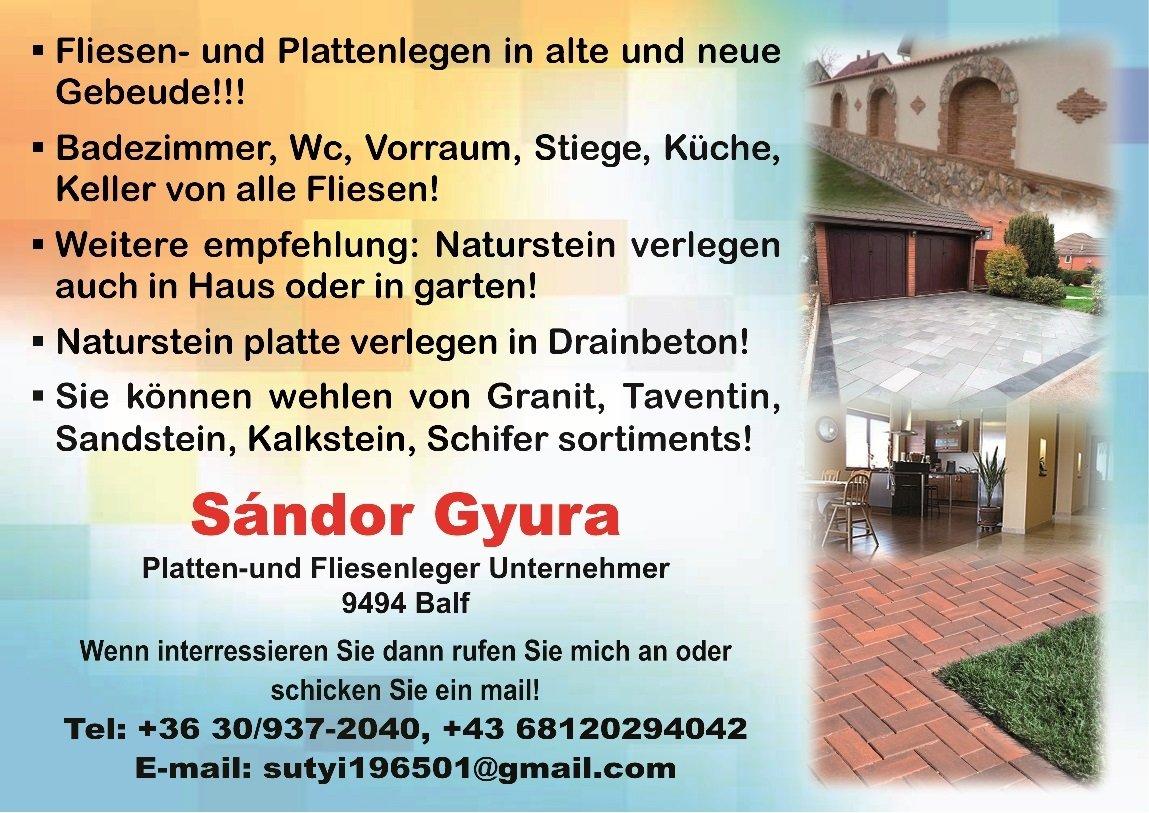 fliesenleger sopron verkleidung von badezimmer treppen terrassen ungarischedienstleistungen. Black Bedroom Furniture Sets. Home Design Ideas